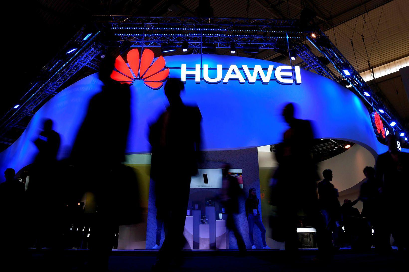 Huawei er mjög vinsæll framleiðandi í Kína en staða fyrirtækisins …