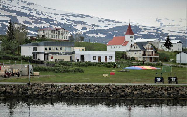 Um 30 skjálftar mældust um 1 kílómetra norðan við Hrísey á dögunum 31. október til …