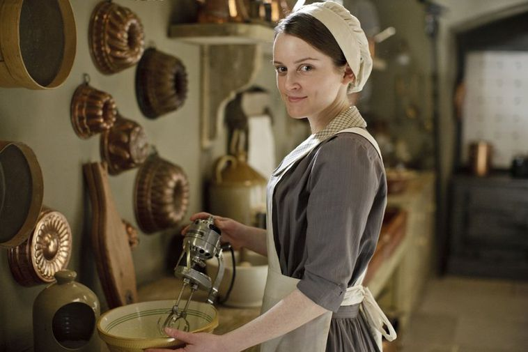 Sophie McShera as Daisy in Downton Abbey.