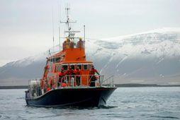 Björgunarskip Landsbjargar.