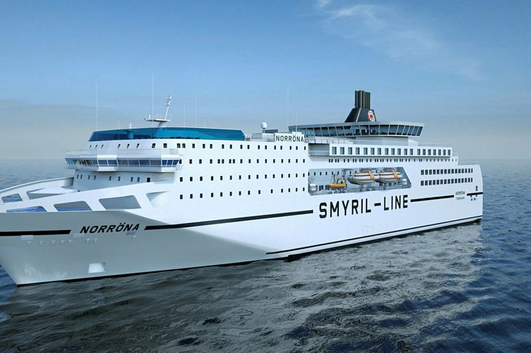 This is what the ferry will look like after the facelift.