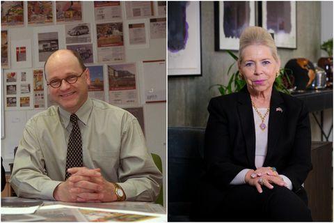 Gunnar Steinn Pálsson almannatengill og Michele Roosevelt Edwards.