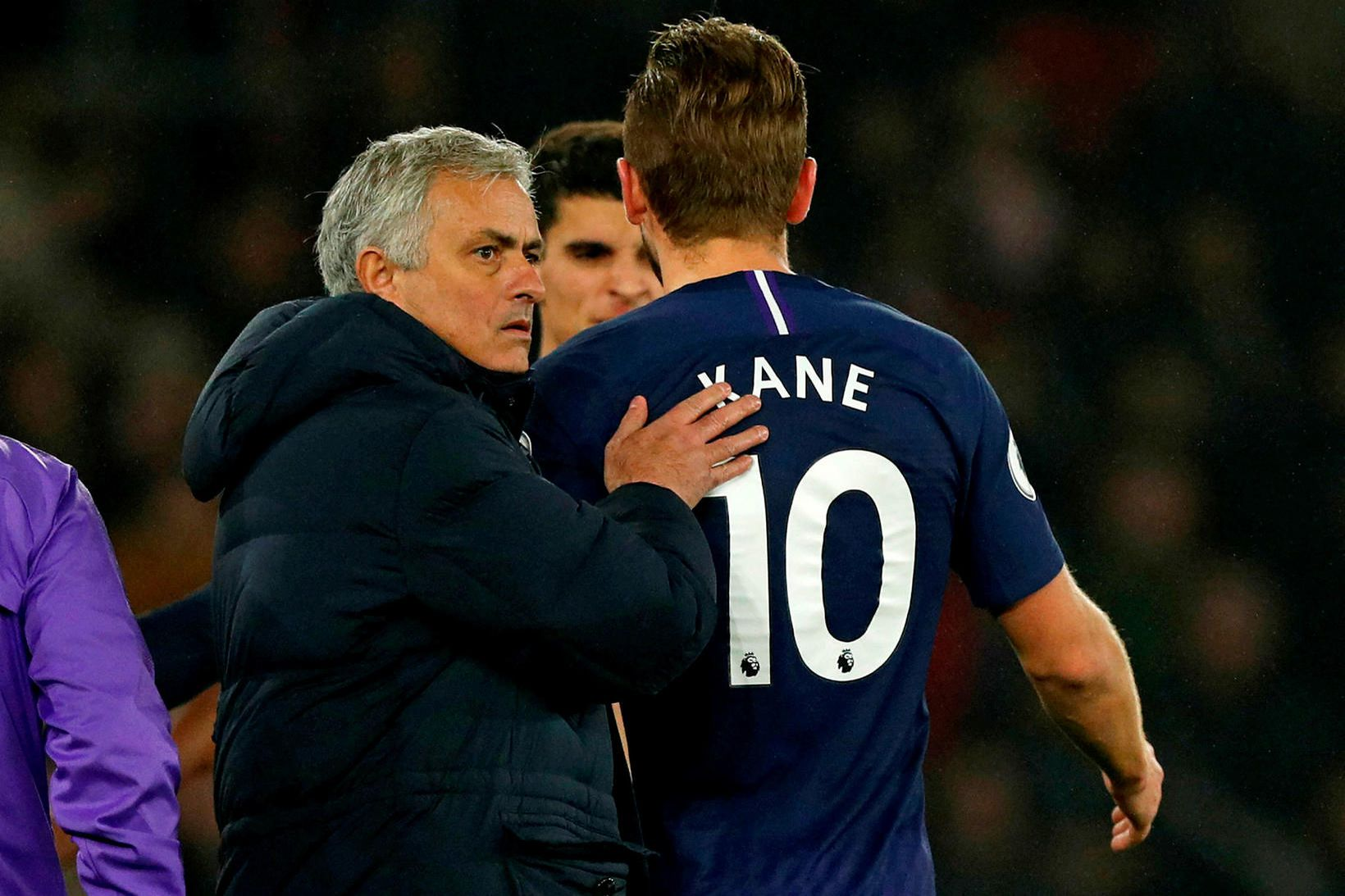 José Mourinho segir að Harry Kane gæti mögulega snúið aftur …