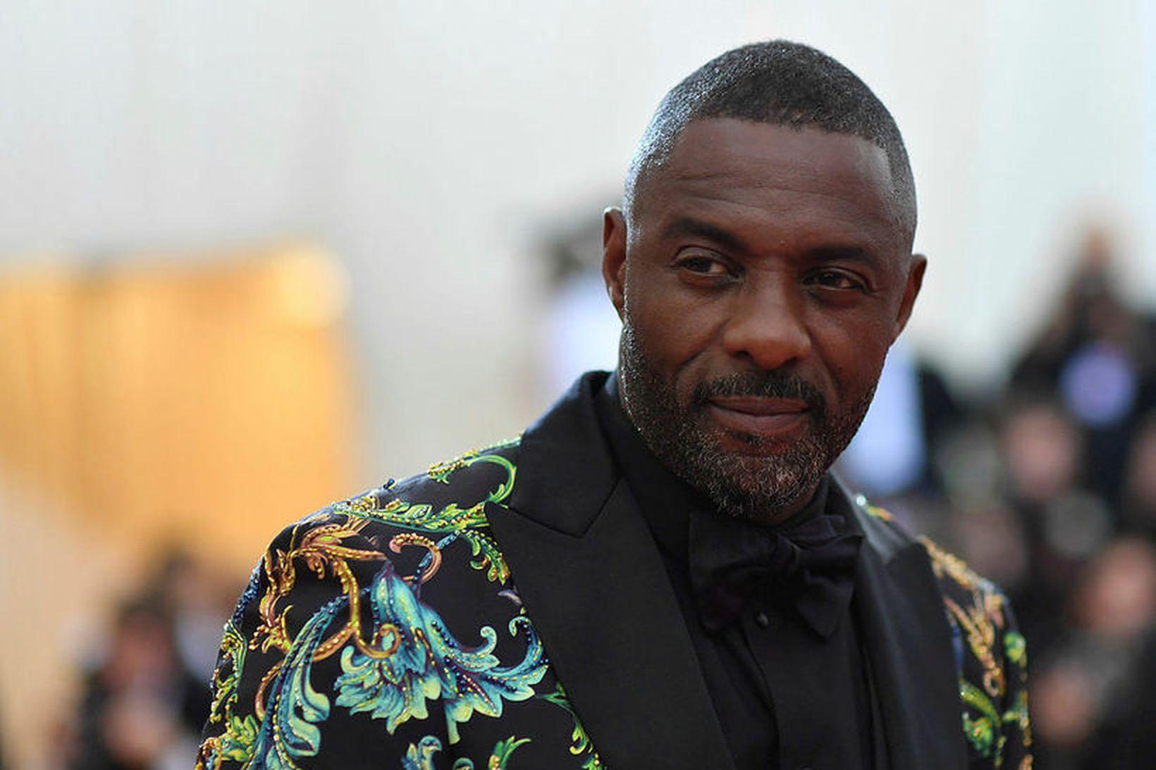 Leikarinn Idris Elba smitaðist af kórónuveirunni.