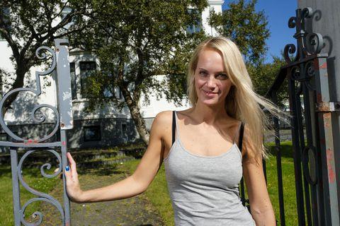 Dóra Jóhannsdóttir er á leið í nám í Hússtjórnarskólann þessa dagana.
