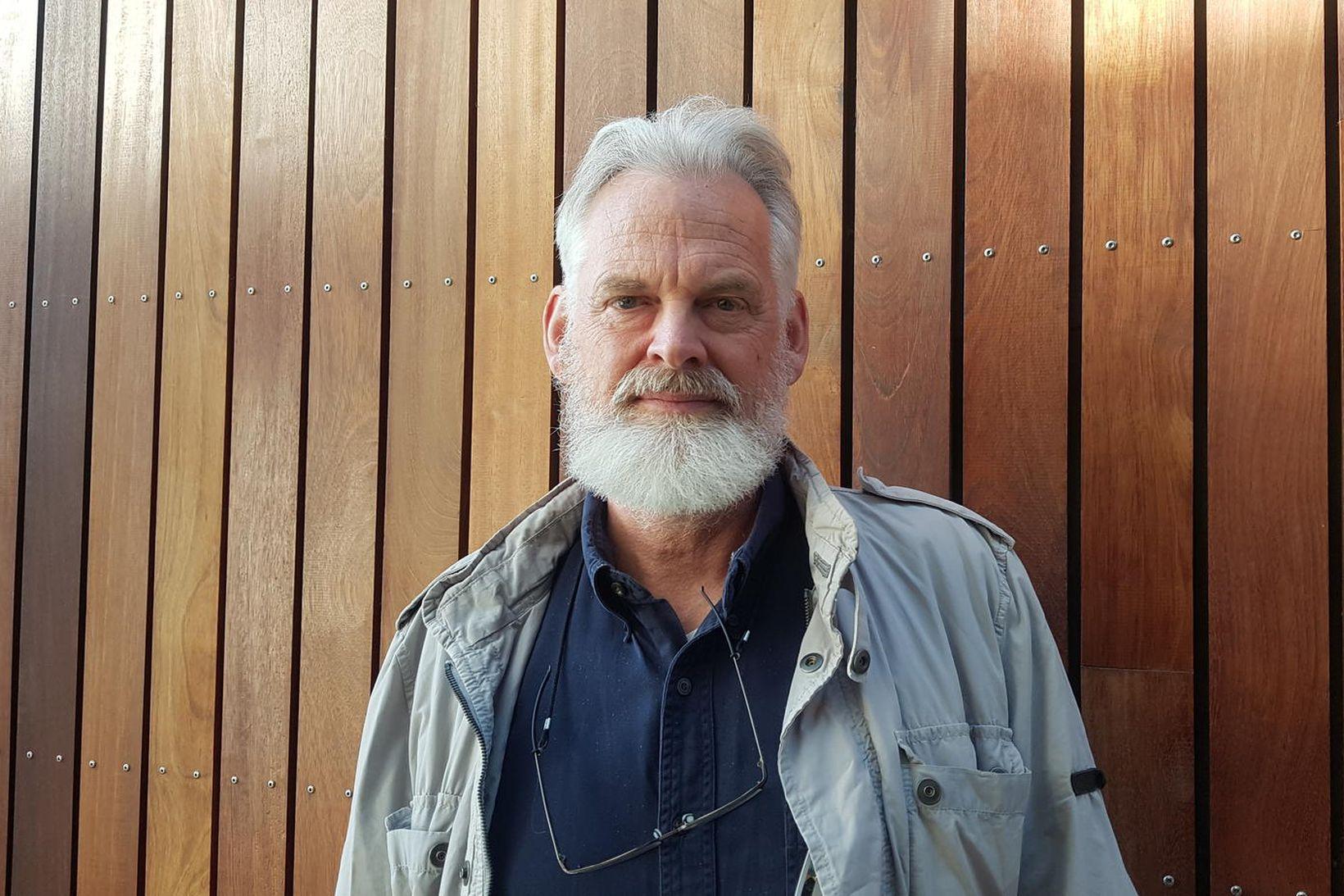 Ólafur K. Nielsen, vistfræðingur hjá Náttúrufræðistofu Íslands, gagnrýndi stefnu Skógræktarinnar …