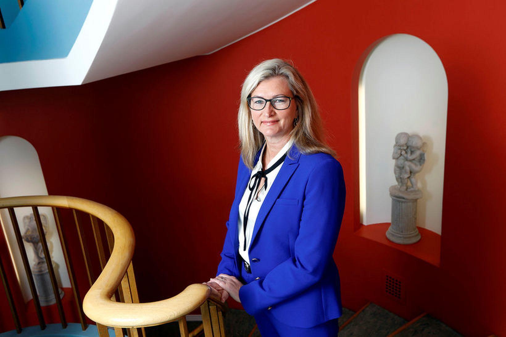 Alma Möller landlæknir telur að Heilsuvera.is sé ákjósanlegur vettvangur fyrir …