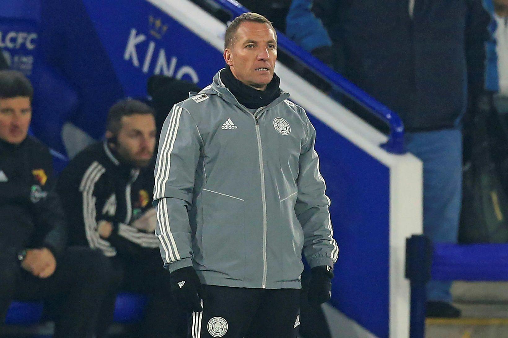 Brendan Rodgers heldur áfram hjá Leicester.