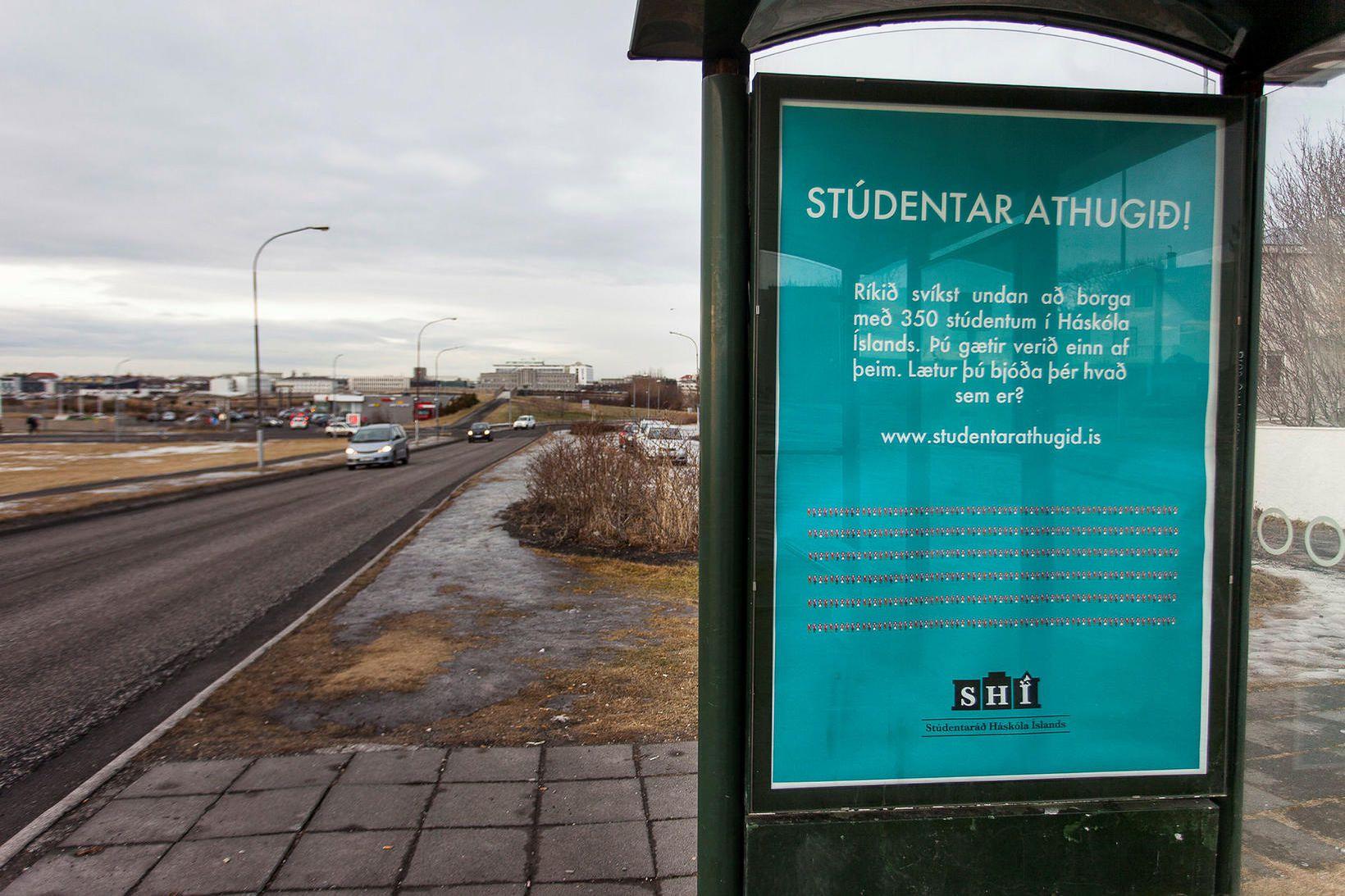 Stúdentaráð Háskóla Íslands segir kröfu Menntasjóðs námsmanna um þinglýstan leigusamning …