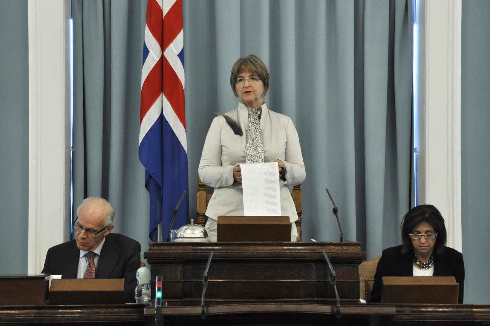Ásta Ragnheiður Jóhannesdóttir var forseti Alþingis 2009-2013.