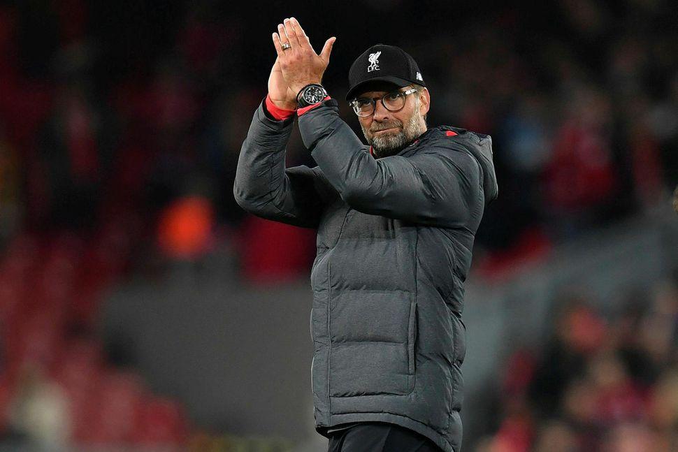 Jürgen Klopp stýrði Liverpool á árunum 2008 til ársins 2015 ...