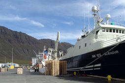 Blængur NK var með 15% meiri afla á síðasta ári borið saman við fiskveiðiárið á ...