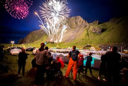 The festival in Vestmannaeyjar has traditionally been the largest music event of the year.