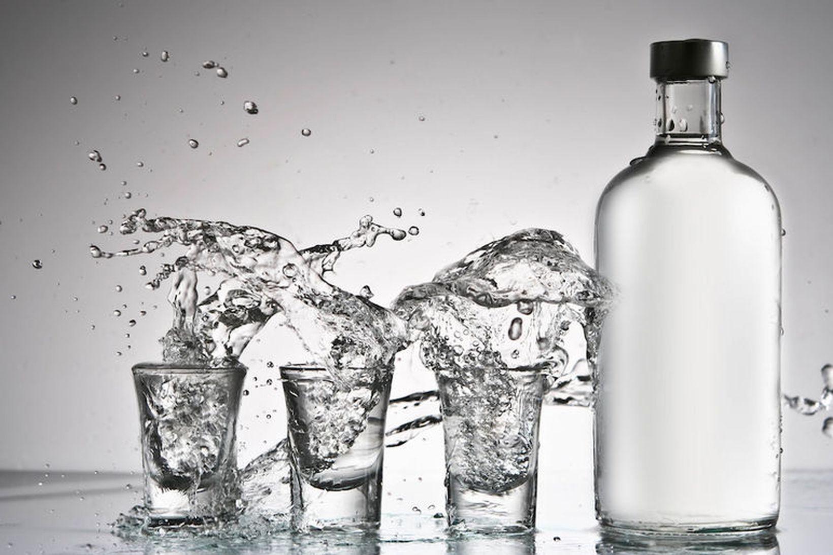 Vodka er ekki bara hressandi drykkur á laugardagskvöldi - það …