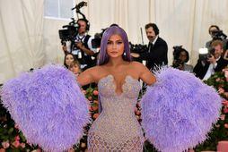 Kylie Jenner á Met Gala kvöldinu árið 2019.