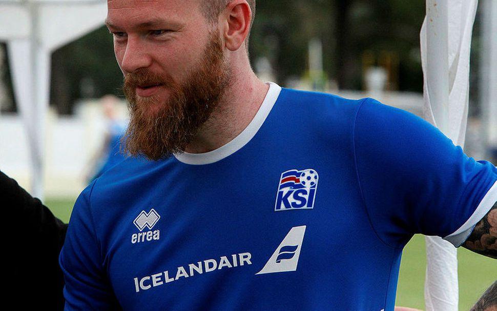 Aron Einar Gunnarsson.