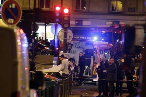 Some 130 were killed in separate terrorist attacks in Paris on Friday night.
