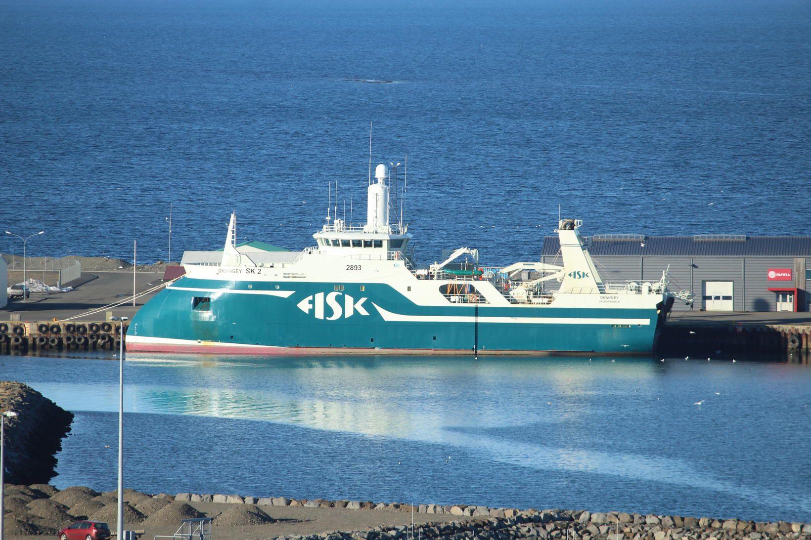 Nýr þjarkur nýtist vel í landvinnslu Fisk Seafood á Sauðárkkróki.