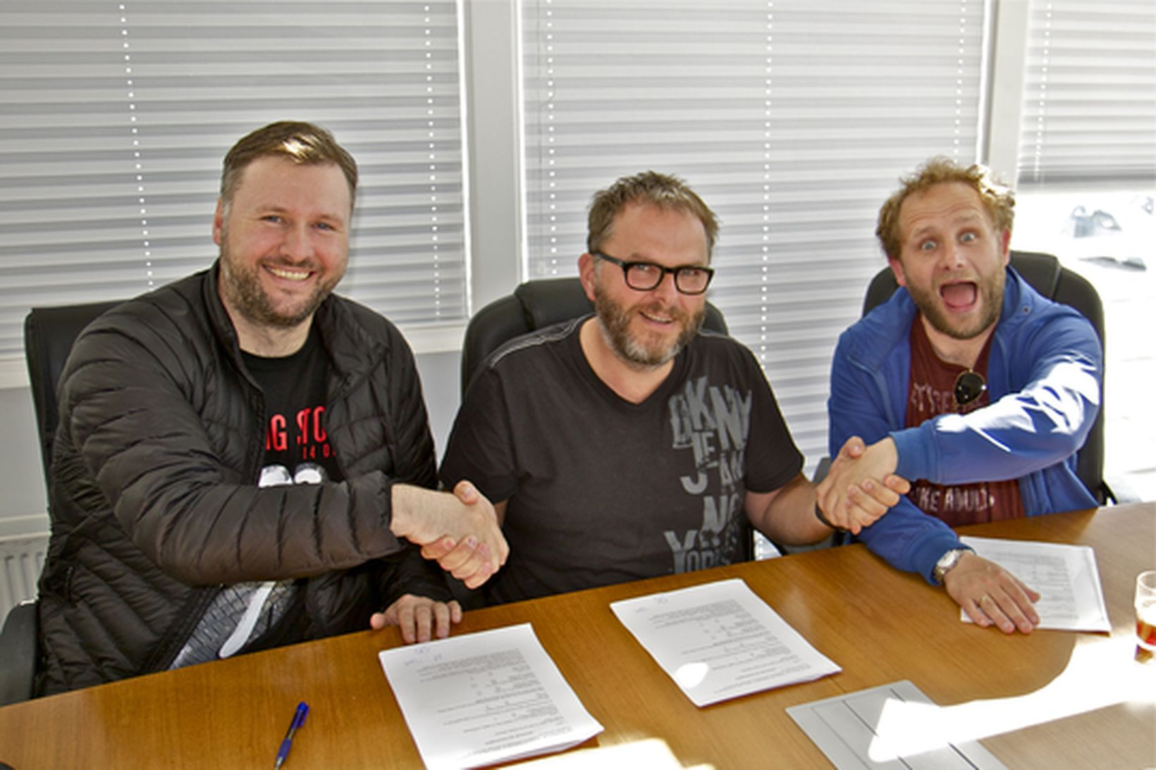 Bragi Þór Hinriksson, Alfreð Ásberg Árnason og Sverrir Þór Sverrisson.