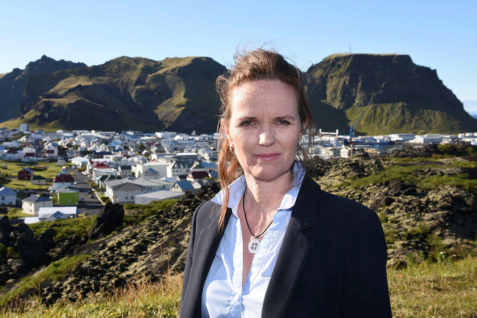 Íris Róbertsdóttir, bæjarstjóri í Vestmannaeyjum.