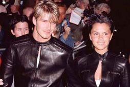 David og Victoria Beckham eru samstíga hjón.