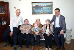 Á myndinni eru frá vinstri talið: Kristófer Máni Sigursveinsson, Stefán Þór Guðmundsson, Natan Bjarni Kristófersson, …