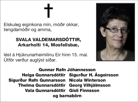 Svala Valdemarsdóttir,