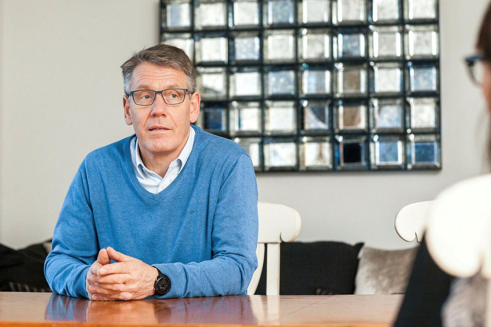 Pétur Hafsteinn Pálsson, framkvæmdastjóri Vísis hf. í Grindavík, segir árleg …
