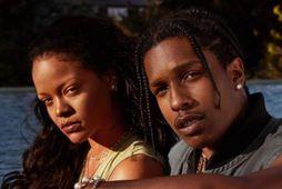 Rihanna og A$AP Rocky eru kærustupar.