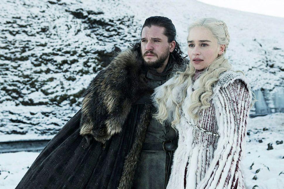 Jon Snow og Daenerys Targaryen.