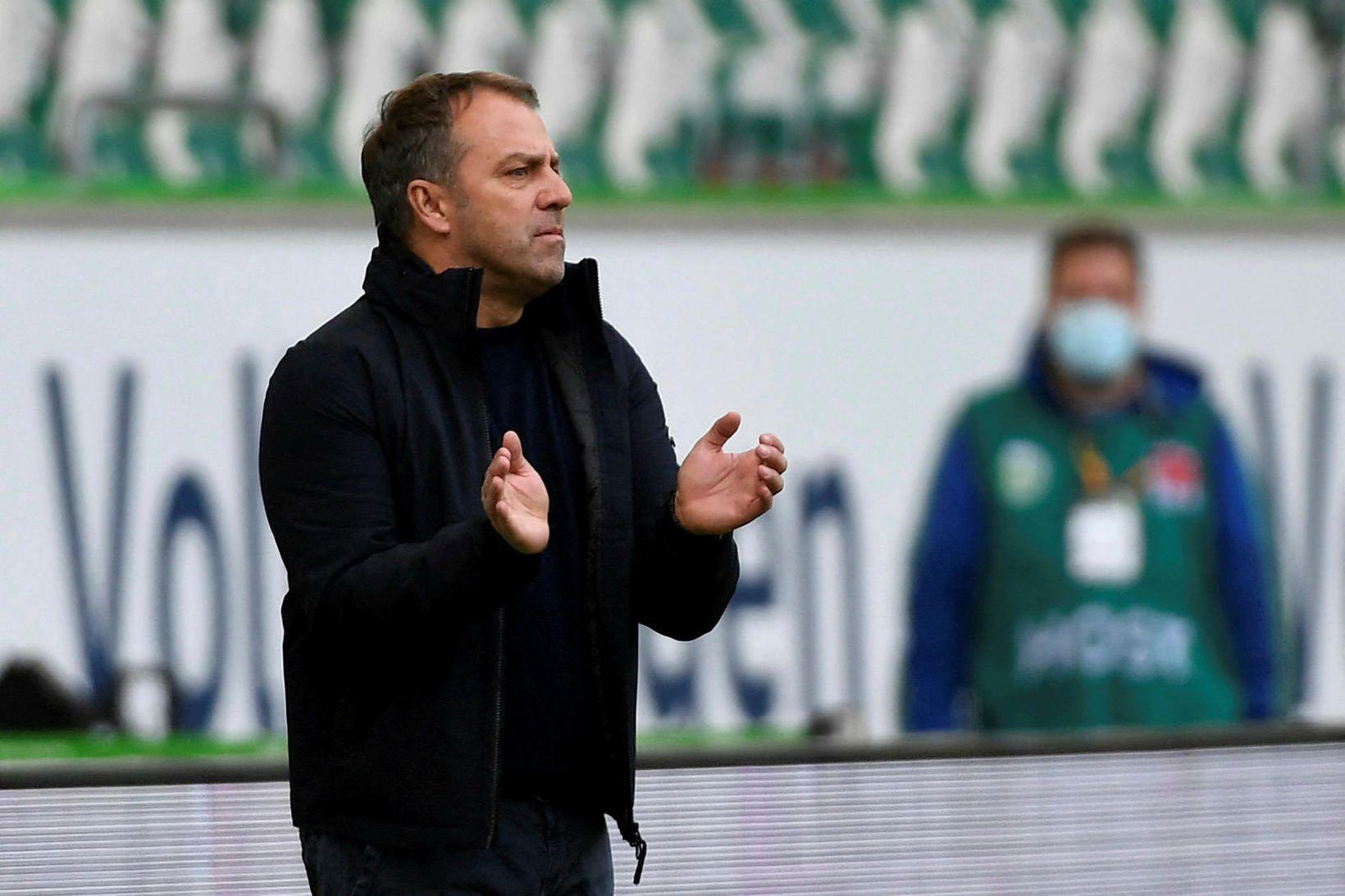 Hansi Flick yfirgefur Bayern München að loknu yfirstandandi leiktímabili.