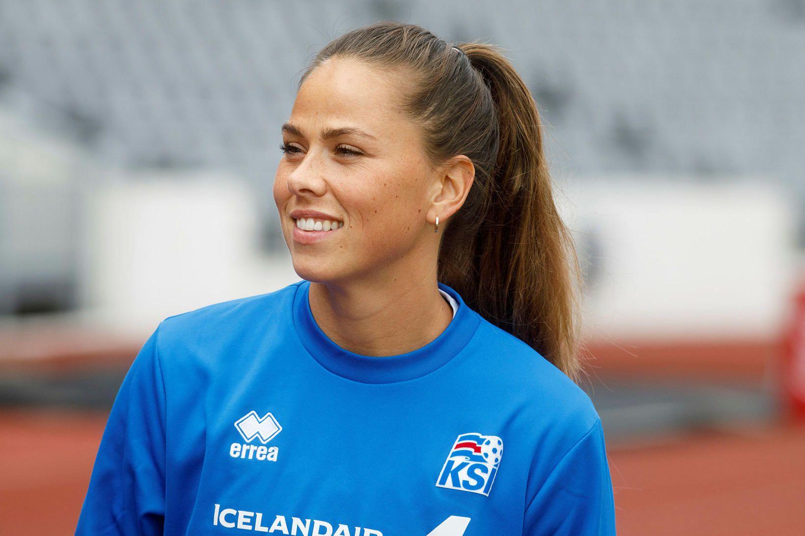 Sara Björk Gunnarsdóttir á að baki 131 A-landsleik fyrir Ísland …