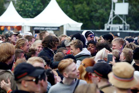 The Secret Solstice festival takes place in June.