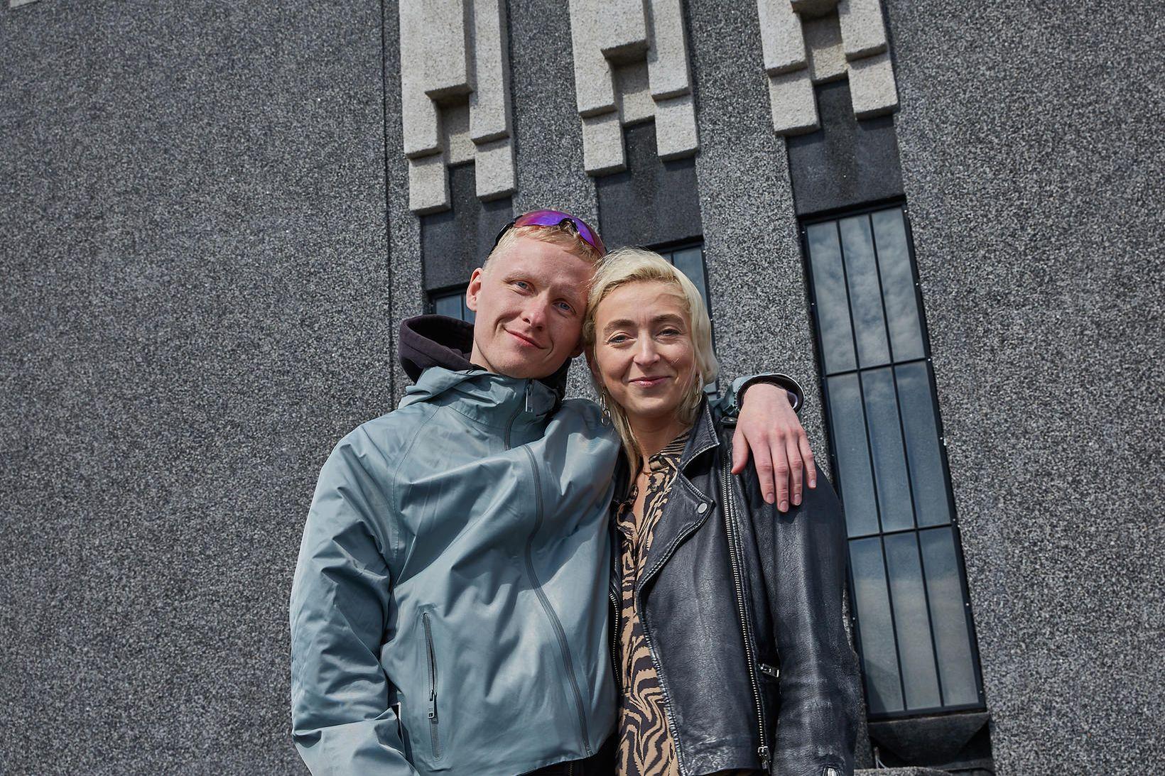 Sigurbjartur Sturla Atlason og Ebba Katrín Finnsdóttir.