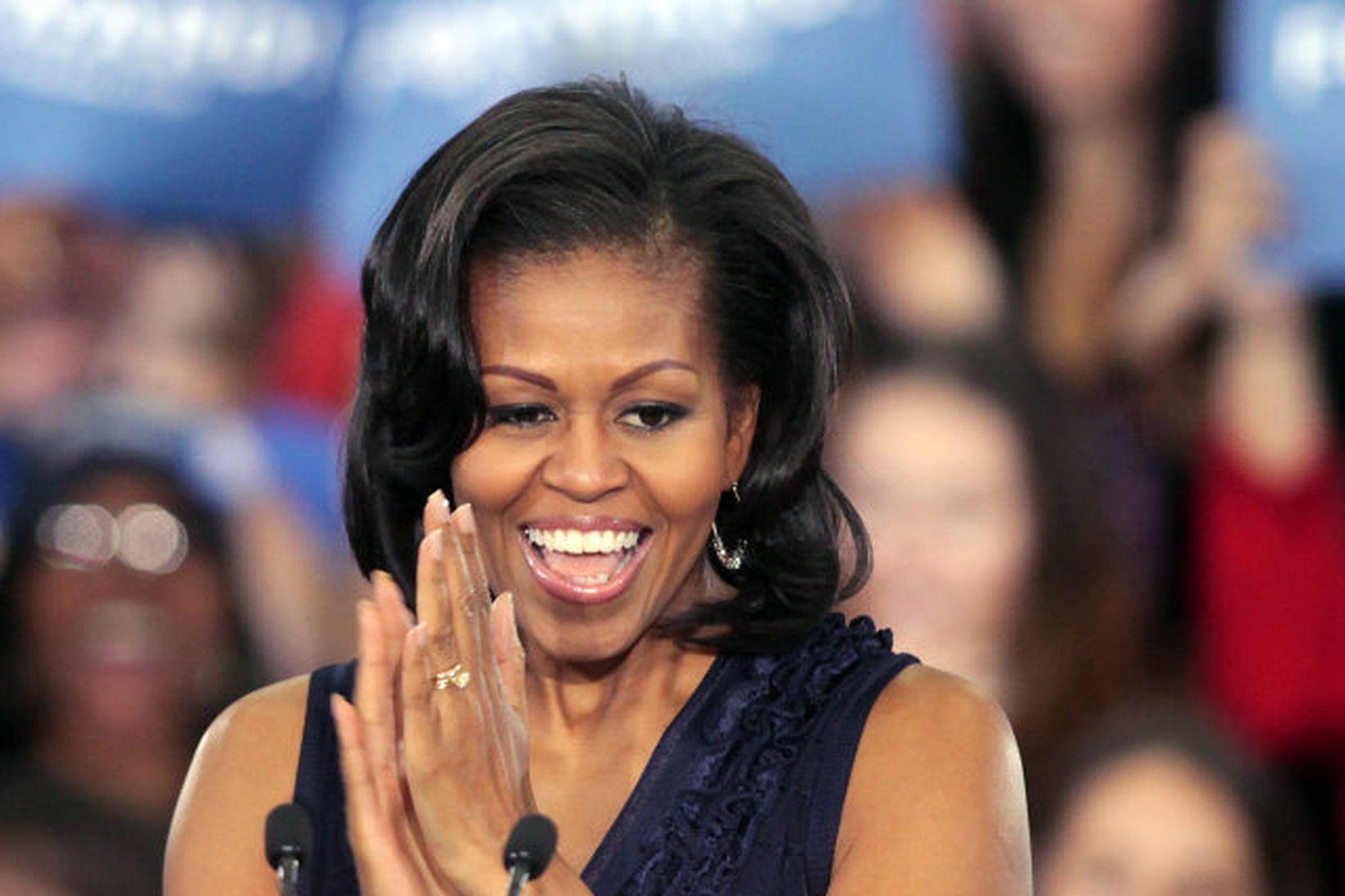 Michelle Obama ákvað að fylgja hjartanu í stað þess að …