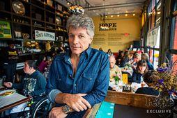Jon Bon Jovi á veitingastaðnum Soul Kitchen.