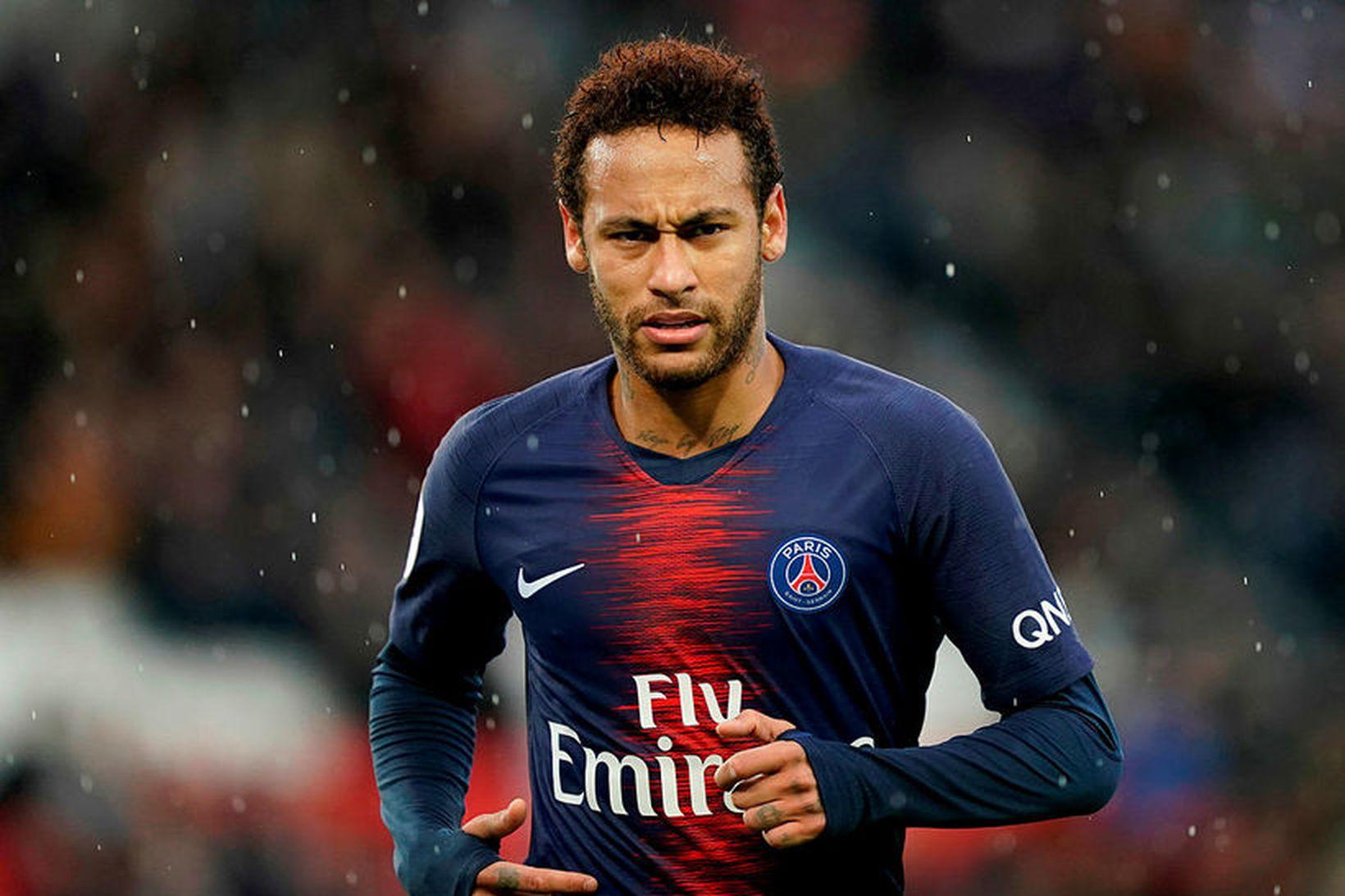 Neymar í leik með Paris SG.