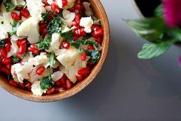 Börn elska salatið sem hentar vel með léttum réttum svo sem fisk og kjúkling.