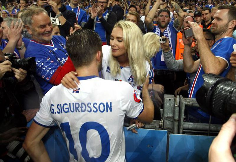 Gylfi and Alexandra.