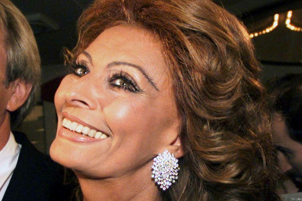 Sophia Loren er ítölsk og segir hlutina eins og þeir ...