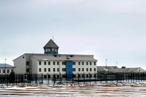 Litla-Hraun, Iceland's largest prison.