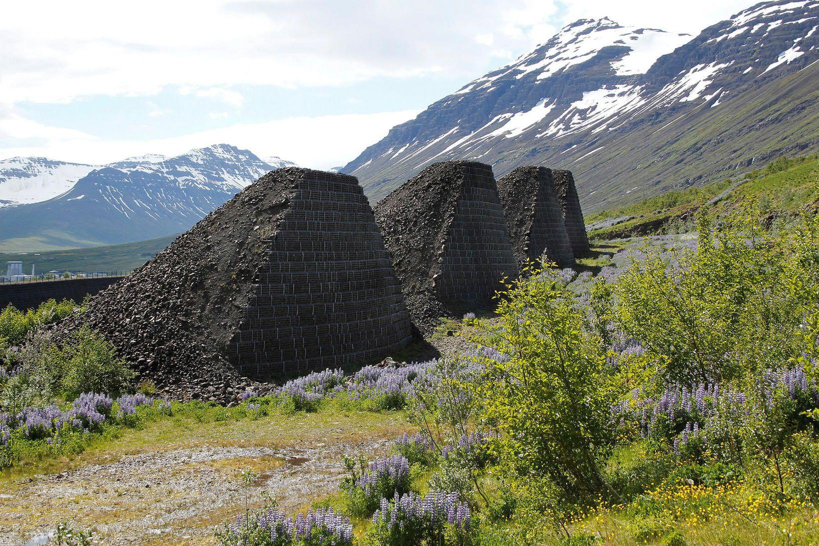 Snjóflóðavarnir við Neskaupstað