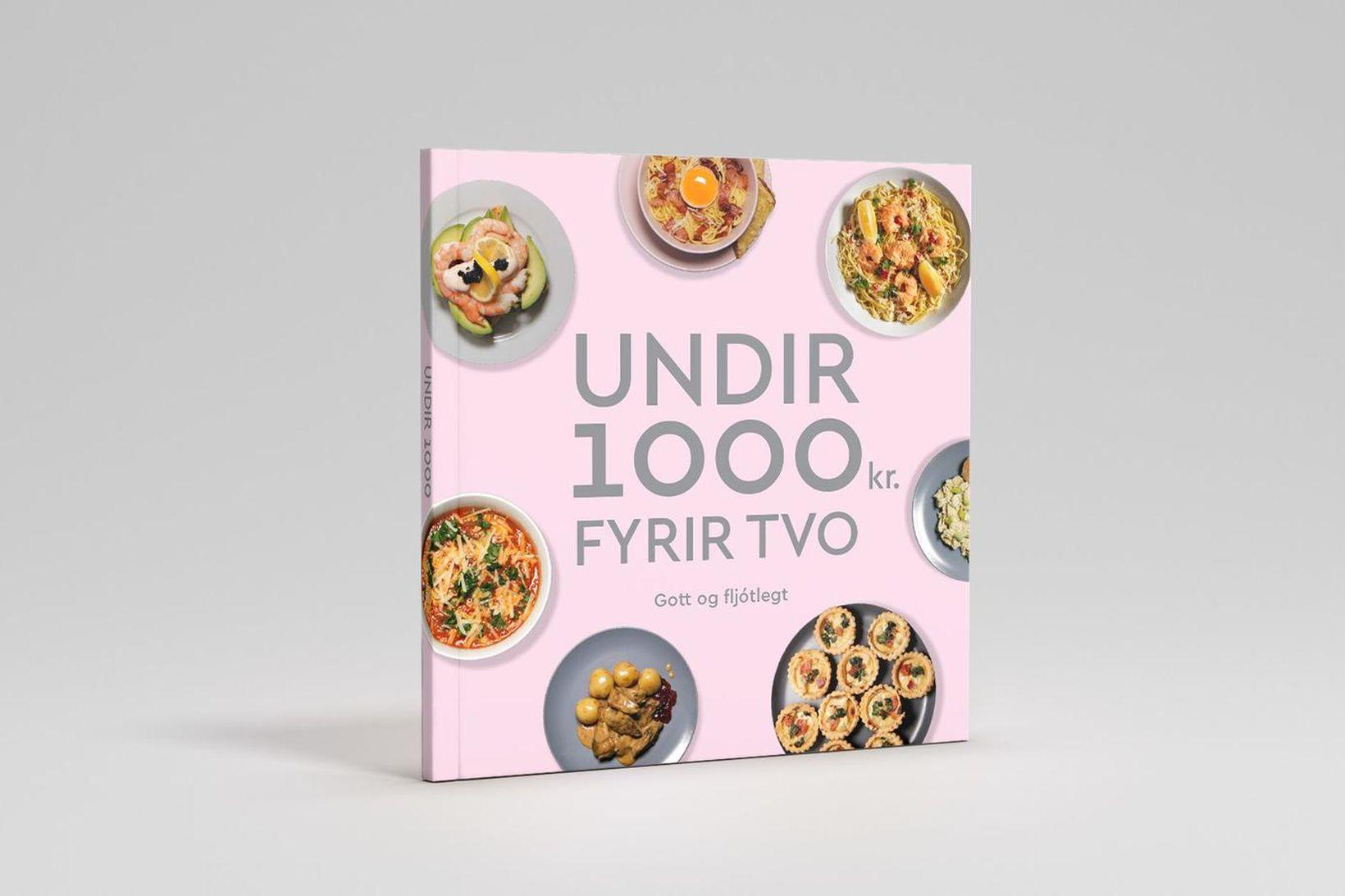 Ný matreiðslubók sem inniheldur 40 fljótlegar og ódýrar uppskriftir.