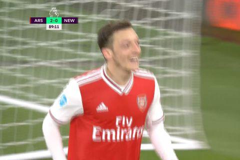 Arsenal fór á flug (myndskeið)