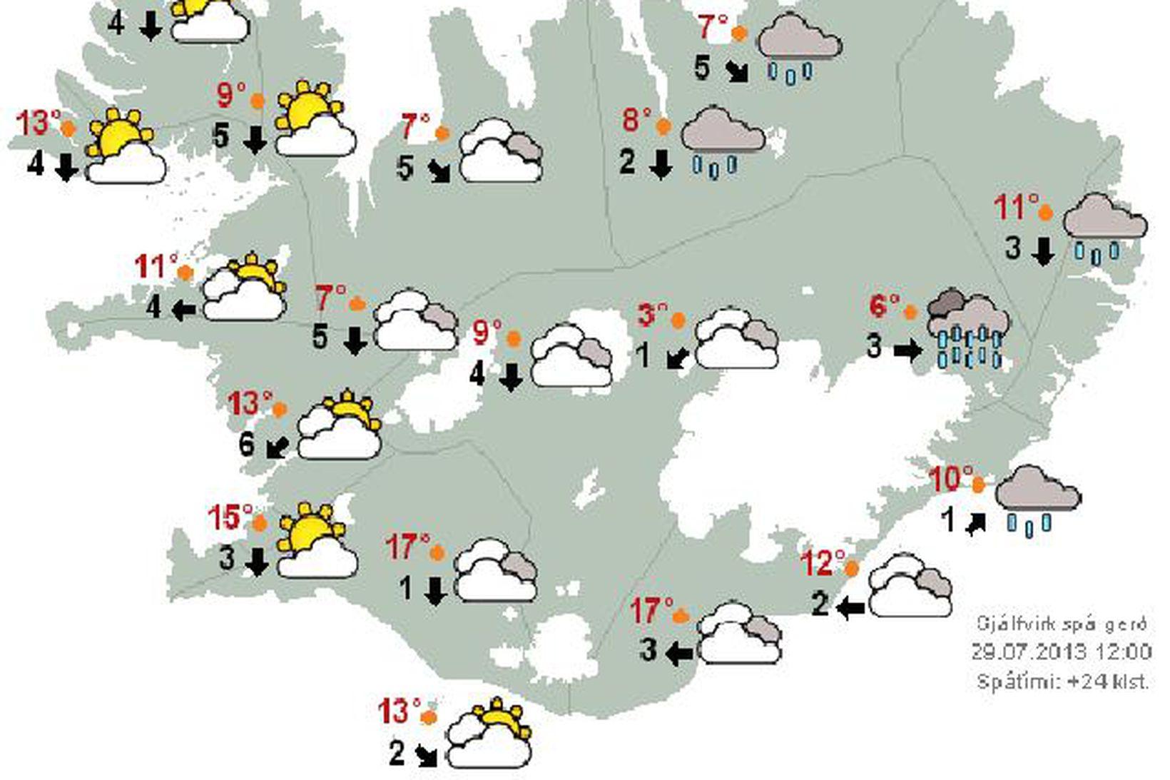 Vefur Veðurstofunnar er sá hraðasti á landinu samkvæmt mælingum Íslandsvaktarinnar.