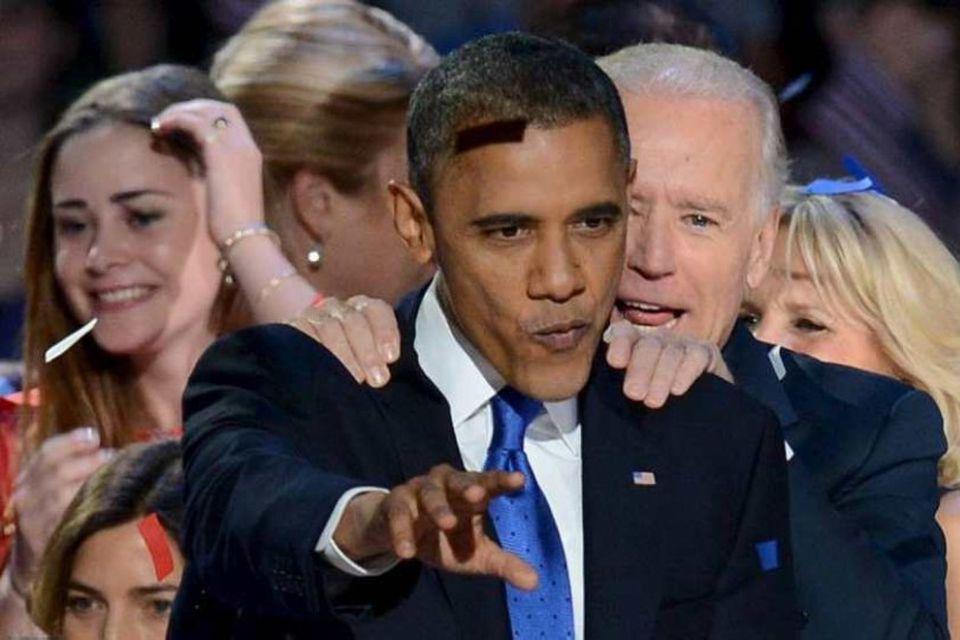 Það besta á enn eftir að gerast, sagði Obama er hann var endurkjörinn.