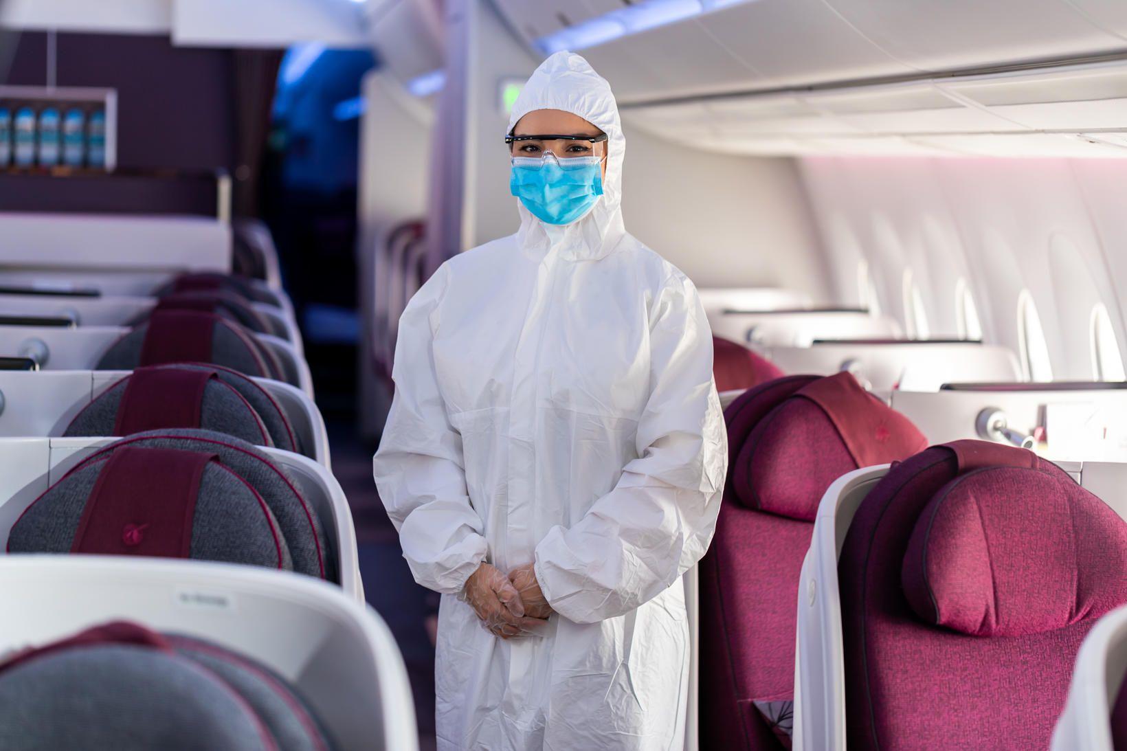 Starfsfólk í flugvélum Qatar Airways mun líta svona út á …
