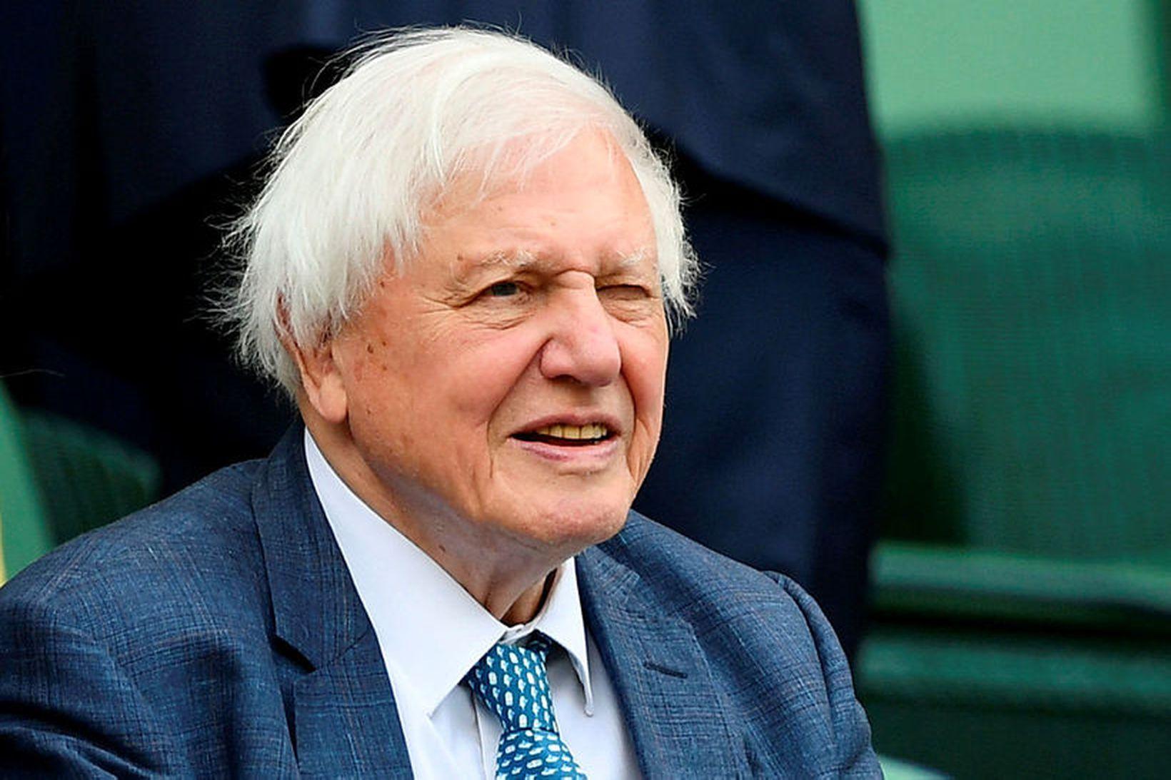 Sir David Attenborough.