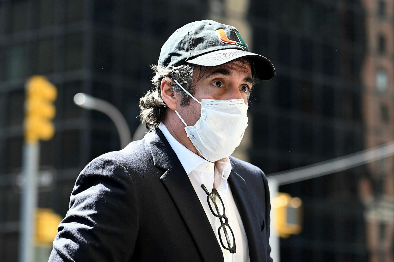 Cohen hefur sést ítrekað á götum New York borgar eftir …