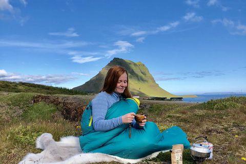 Góður svefnpoki er undirstaða góðs svefns í útilegum.